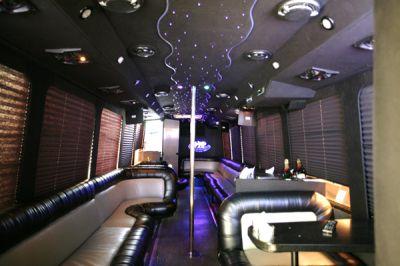 32 Passenger Limousine Bus Stripper Pole Nationwide Limousine Service Photo Gallery