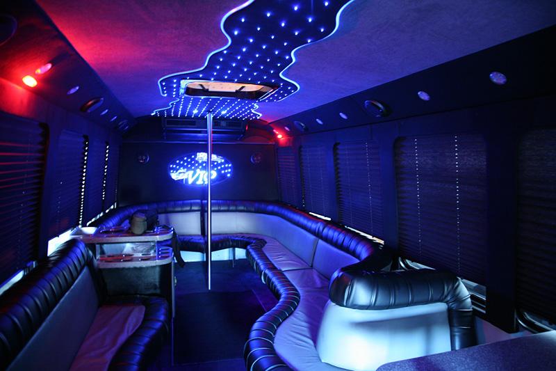 Rolls Royce Limo >> San Francisco 24 Passenger Limo Bus with Dance Pole Photo ...