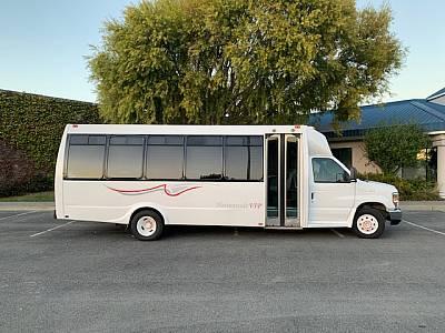 27 Passenger Executive Limo Bus