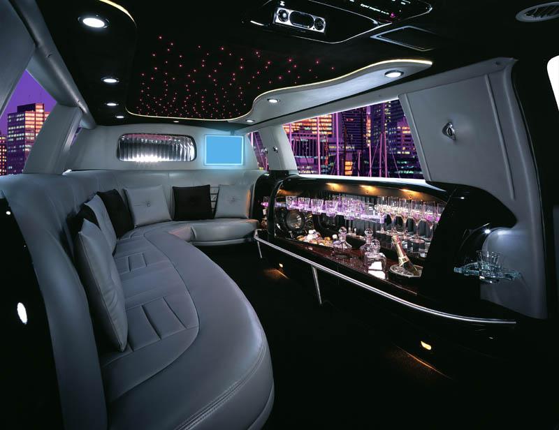 San Francisco 10 Passenger Stretch Limousine Photo Album