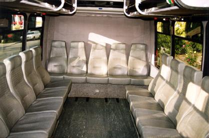 San Francisco 16 Passenger Party Van Photo Album